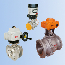 DCL Electric Ball Valve(Adjusting, cutting off, explosion-proof type optional)